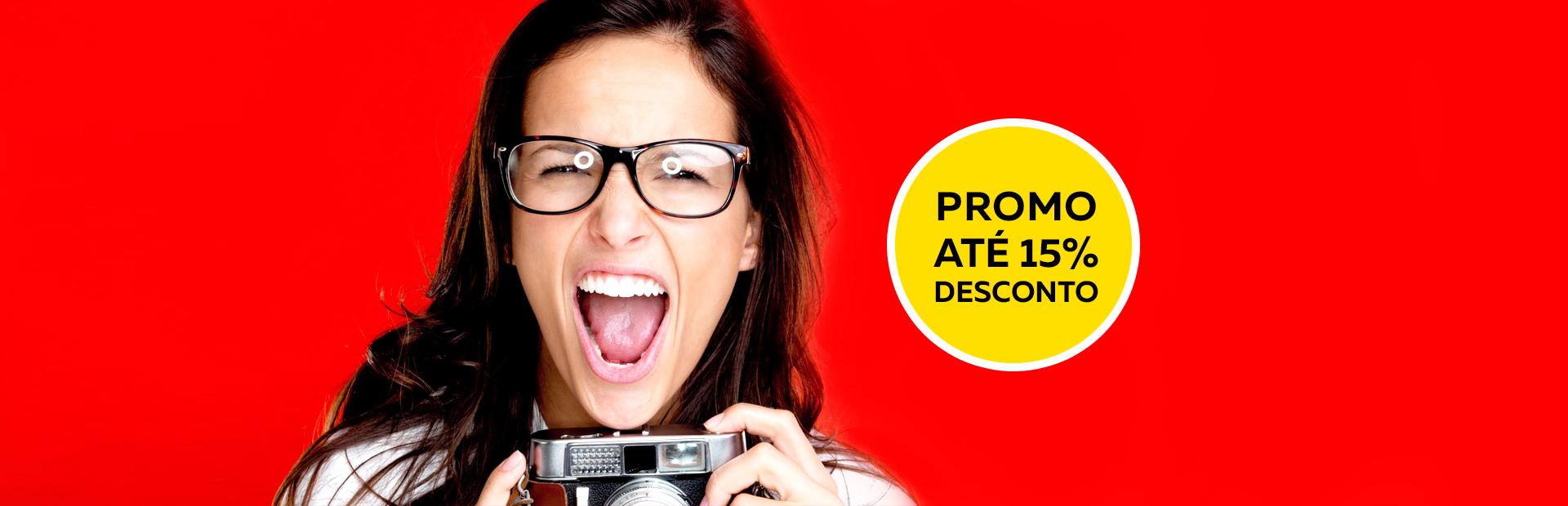 Banners Óculos promoção - Óticas Shalon